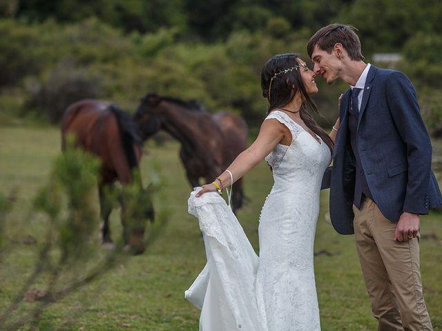 El matrimonio de Martita y Maxime