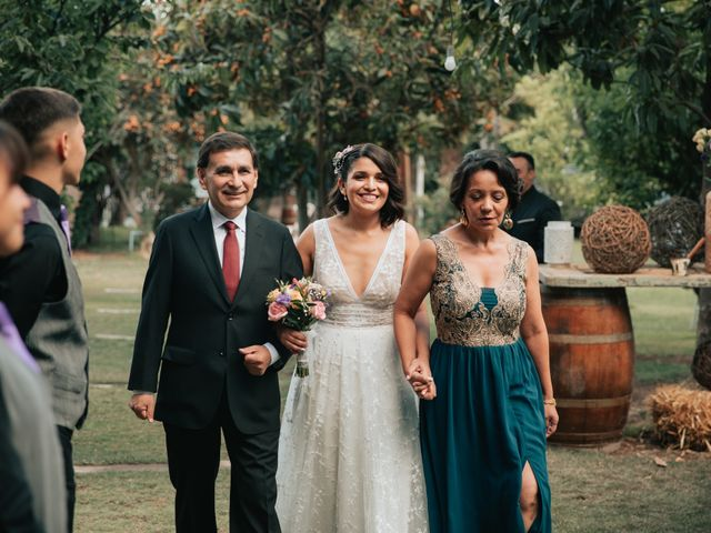 El matrimonio de Fernando y Valentina en Talagante, Talagante 44