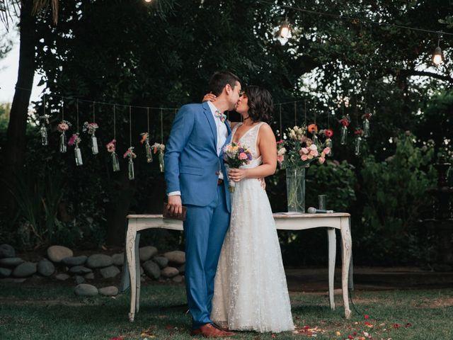 El matrimonio de Valentina y Fernando