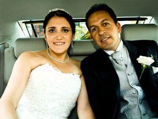 El matrimonio de Karem  y Cristian