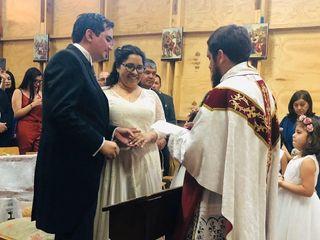 El matrimonio de Carla y Víctor