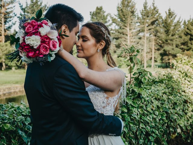 El matrimonio de Katherine y Hugo