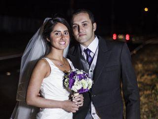 El matrimonio de Makarena y Arturo