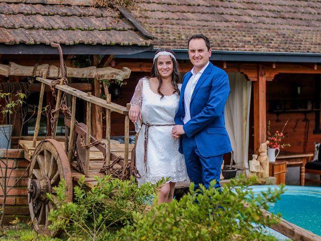 El matrimonio de María Paz y Patricio