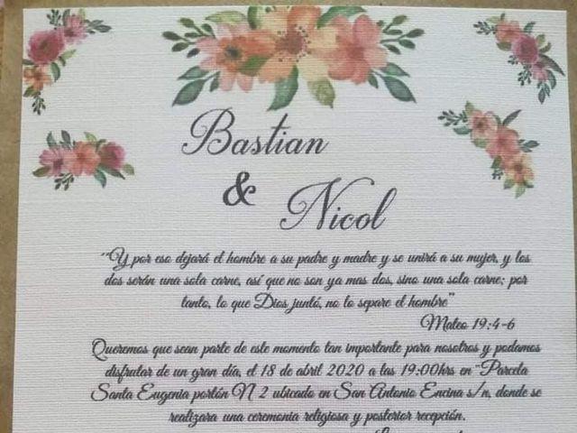 El matrimonio de Bastian y Nicol en Linares, Linares 11