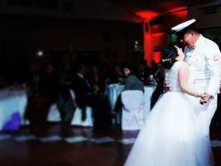 El matrimonio de Catherine y Claudio 1