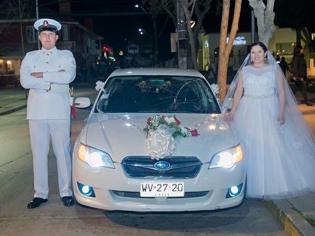 El matrimonio de Catherine y Claudio