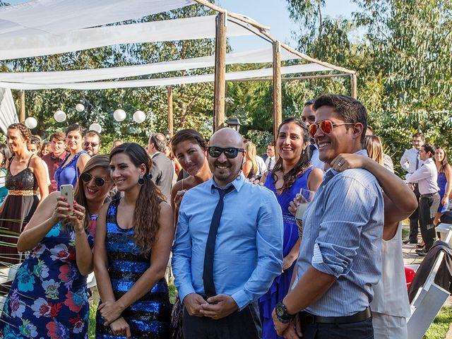 El matrimonio de Matías y Constanza en Pirque, Cordillera 11