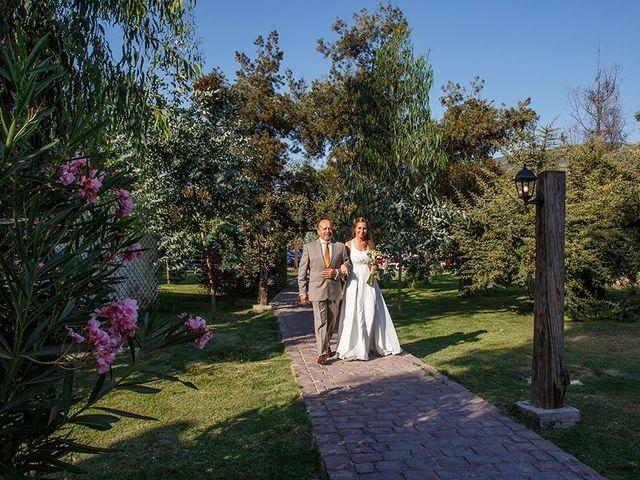 El matrimonio de Matías y Constanza en Pirque, Cordillera 12