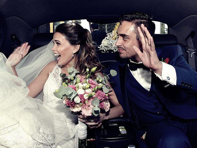 El matrimonio de María Francisca y Francisco Javier