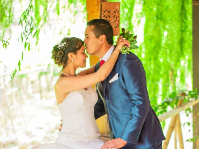 El matrimonio de María y Rodrigo