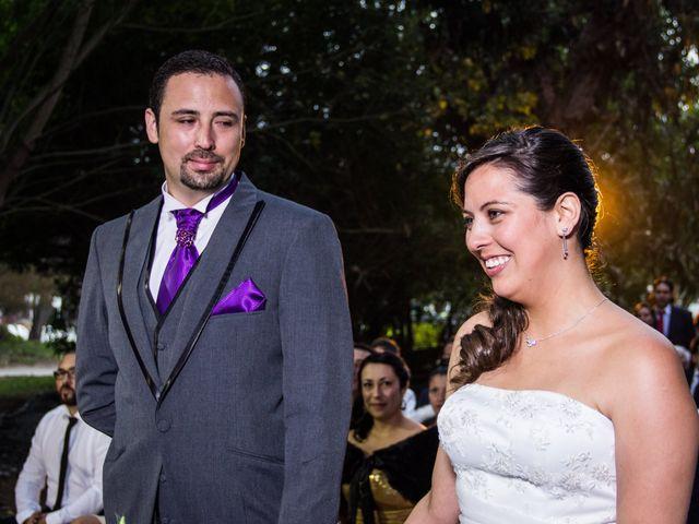 El matrimonio de Angela y Rodrigo