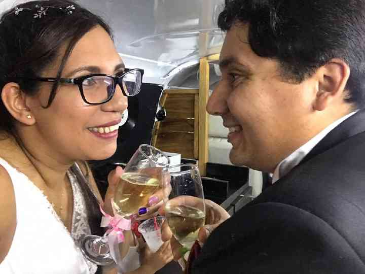 El matrimonio de Katherine y Francisco
