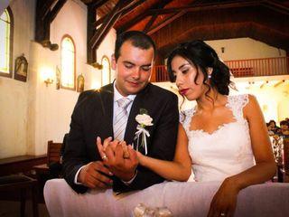 El matrimonio de Claudio  y Zaira