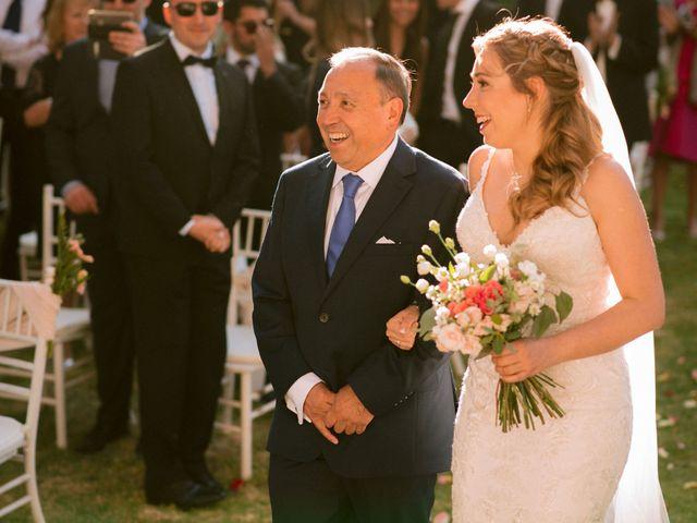 El matrimonio de Moritz y Daniela en San José de Maipo, Cordillera 22