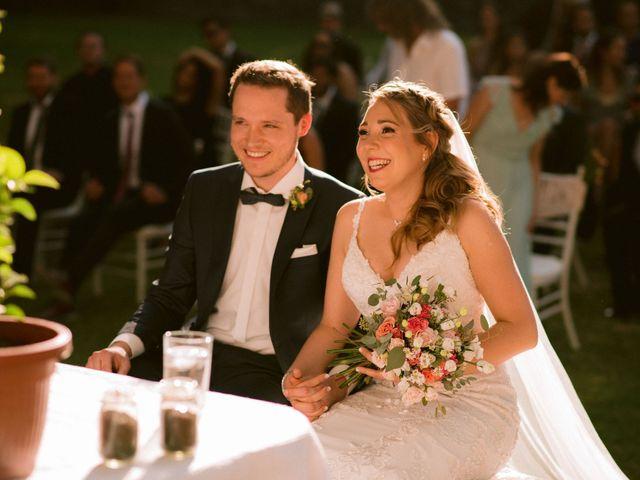 El matrimonio de Moritz y Daniela en San José de Maipo, Cordillera 25