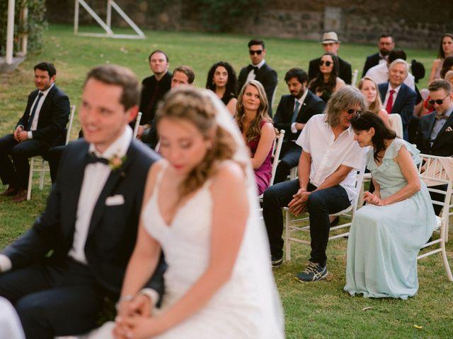 El matrimonio de Moritz y Daniela en San José de Maipo, Cordillera 37