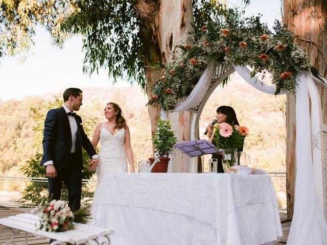 El matrimonio de Moritz y Daniela en San José de Maipo, Cordillera 38
