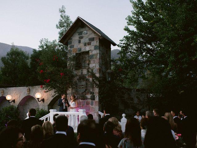 El matrimonio de Moritz y Daniela en San José de Maipo, Cordillera 61