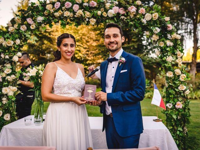 El matrimonio de Marlene y Jorge