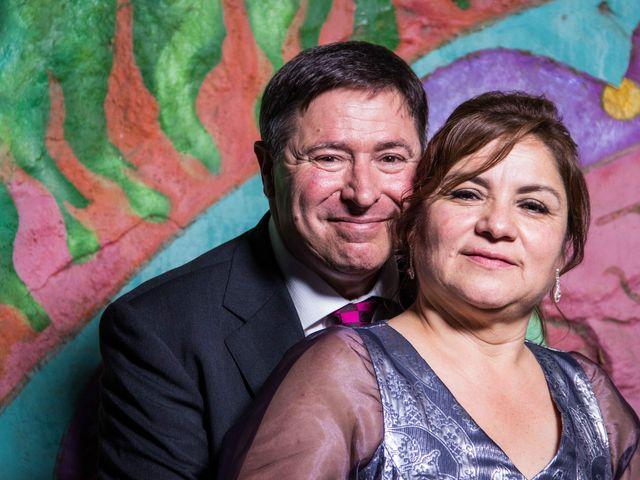 El matrimonio de Verónica y Alberto