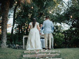 El matrimonio de Liss y Mauro