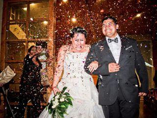El matrimonio de María Fernanda y Carlos