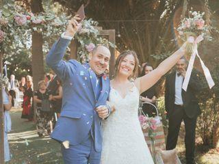 El matrimonio de Claudia y Gerardo