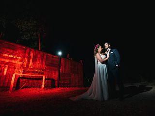 El matrimonio de Andres y Maria Jesús