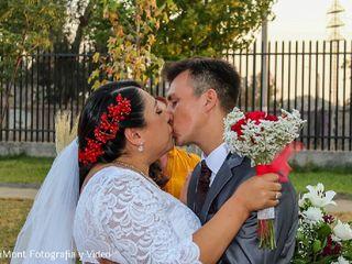 El matrimonio de Karla  y José Miguel