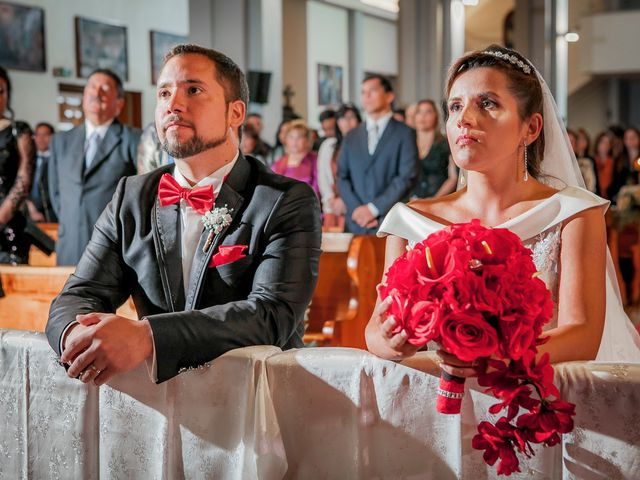 El matrimonio de Catalina y Giorgio