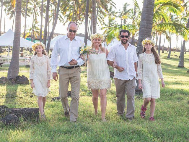 El matrimonio de Thomas y Carmen en Isla de Pascua, Isla de Pascua 1