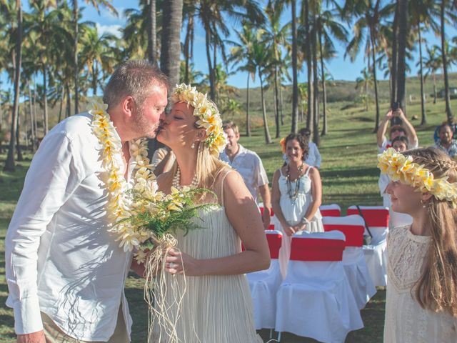 El matrimonio de Thomas y Carmen en Isla de Pascua, Isla de Pascua 2