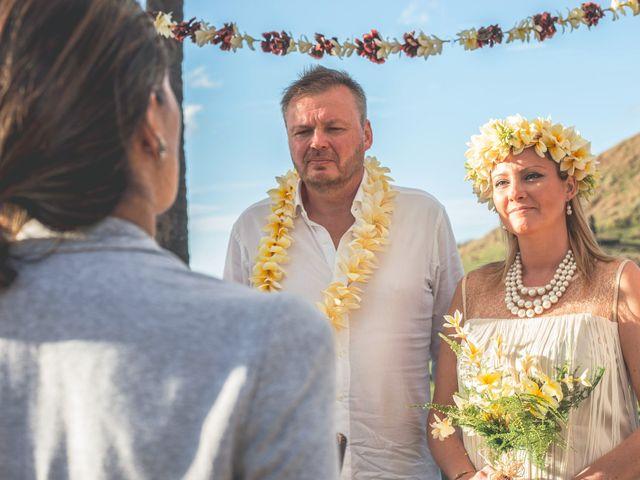 El matrimonio de Thomas y Carmen en Isla de Pascua, Isla de Pascua 6