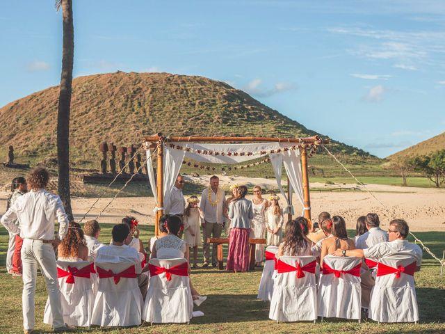 El matrimonio de Thomas y Carmen en Isla de Pascua, Isla de Pascua 7