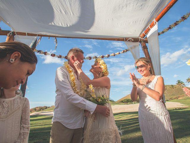 El matrimonio de Thomas y Carmen en Isla de Pascua, Isla de Pascua 8