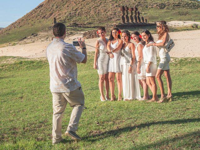 El matrimonio de Thomas y Carmen en Isla de Pascua, Isla de Pascua 33