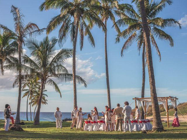 El matrimonio de Thomas y Carmen en Isla de Pascua, Isla de Pascua 40