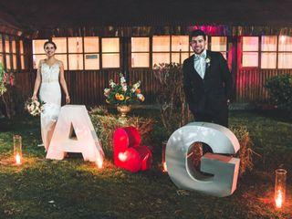 El matrimonio de Anita y Gonzalo