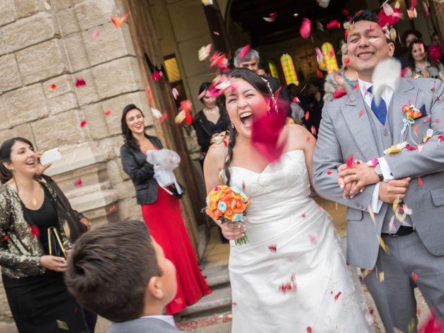 El matrimonio de Fernando y Francesca en La Serena, Elqui 17