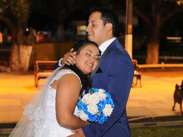 El matrimonio de Roxana  y Pedro