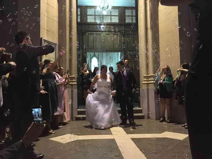 El matrimonio de Melissa  y Miguel
