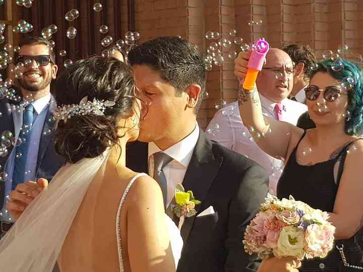 El matrimonio de Ljubi y Hernán