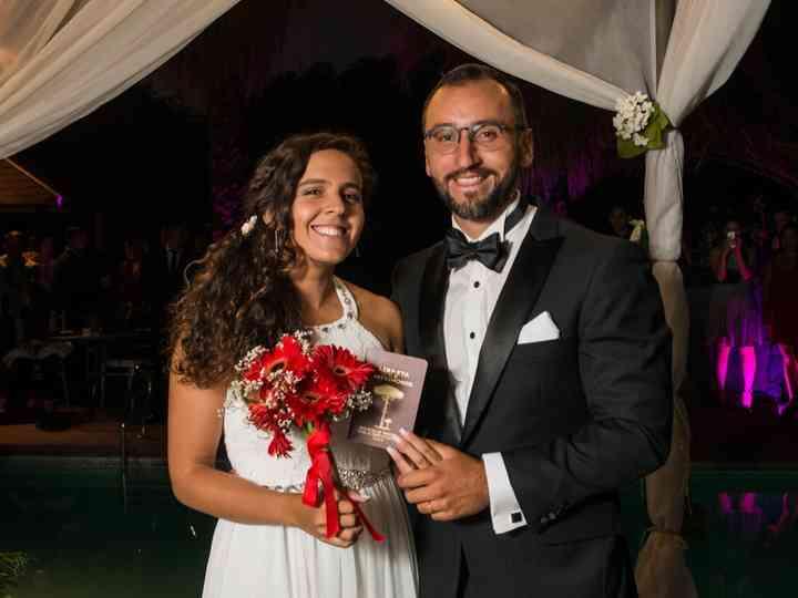 El matrimonio de Isidora  y Rodrigo