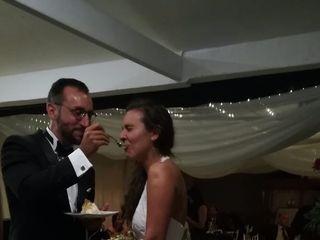 El matrimonio de Isidora  y Rodrigo  1