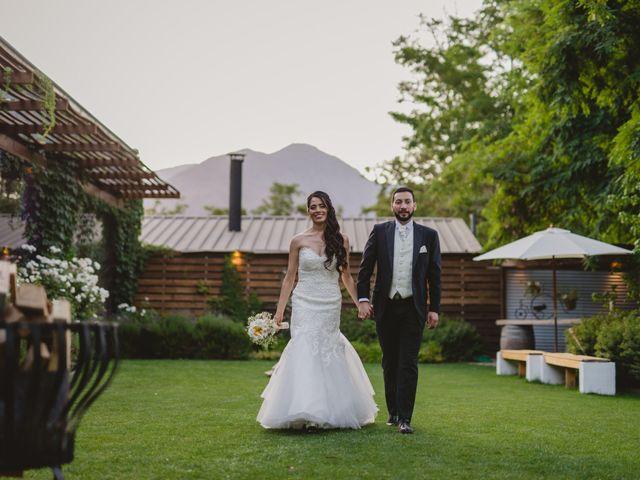 El matrimonio de Pablo y Claudia en Lampa, Chacabuco 20