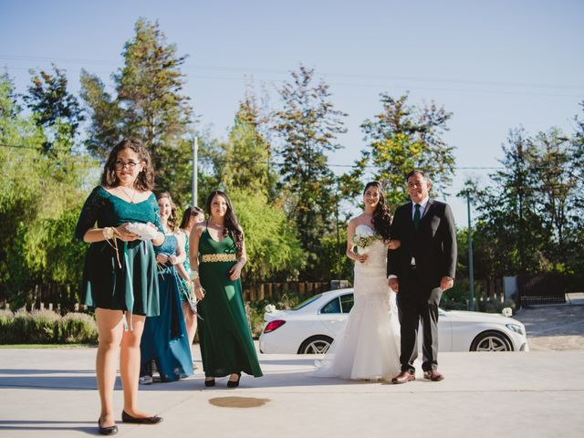 El matrimonio de Pablo y Claudia en Lampa, Chacabuco 11