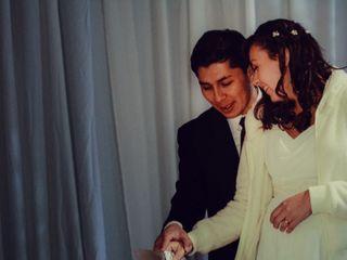 El matrimonio de Gustavo y Evelyn