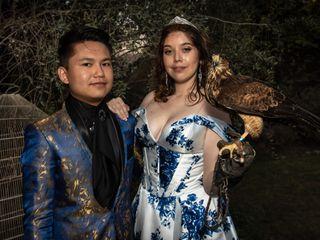 El matrimonio de Tulssi y Cheng