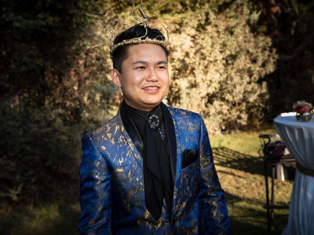El matrimonio de Cheng y Tulssi en Pirque, Cordillera 3